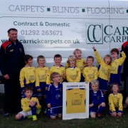 2007 team with sponsor - carrick carpets