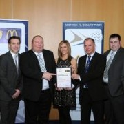 Glenburn MWFC Amateurs_SFA Quality Mark Standard Award